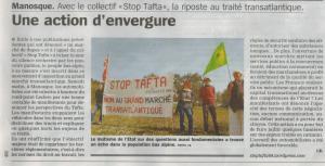 Article de La Marseillaise du 21 avril